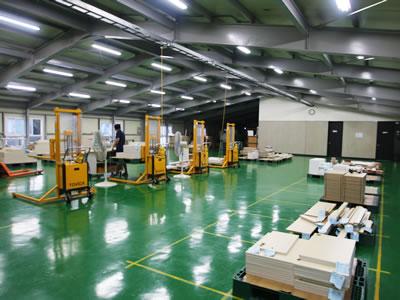 生産工場写真